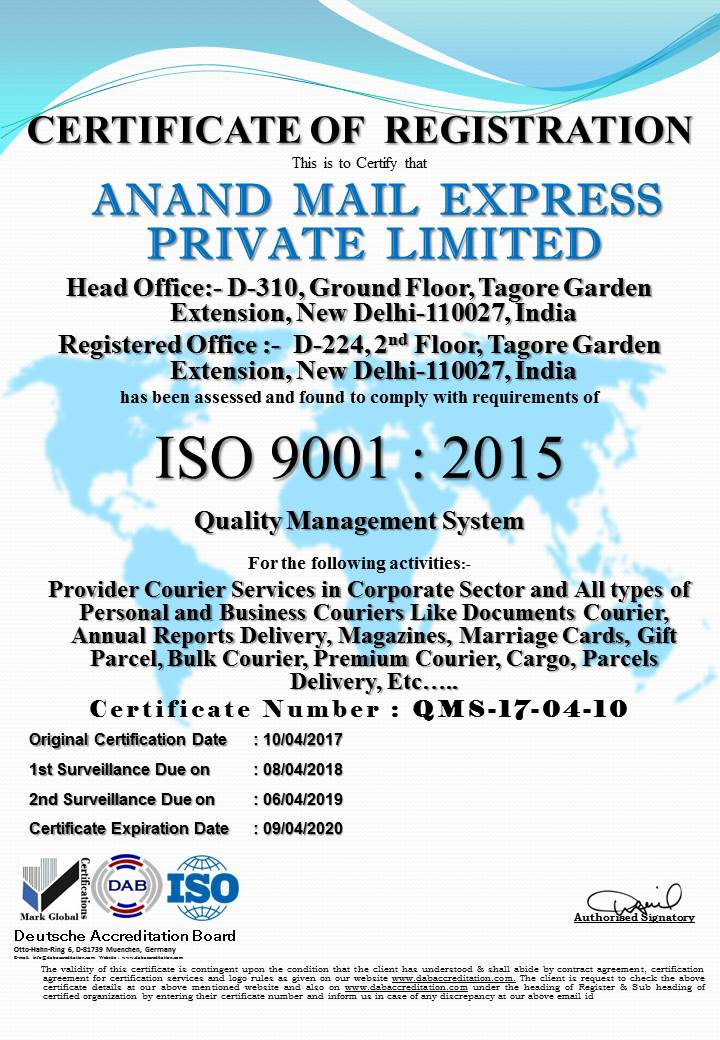 Bulk Mailing, Express Delivery, Parcel, Courier & logistic Services ...